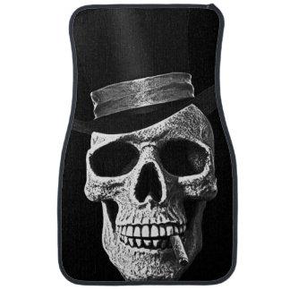 Crâne de chapeau supérieur tapis de sol