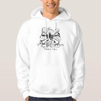 Crâne et os croisés - chemise sweats à capuche