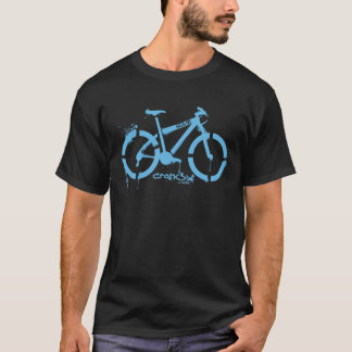 Cranksy Gebirgsfahrrad-T - Shirt