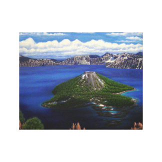 Crater See Leinwanddruck