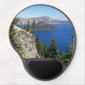 Crater See-Nationalpark-Foto Gel Mousepad