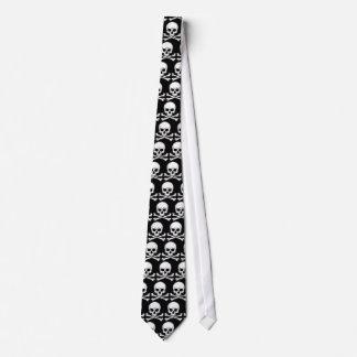 Cravate de crâne - customisée