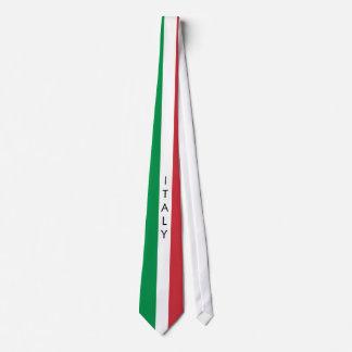 Cravate de drapeau de l'Italie