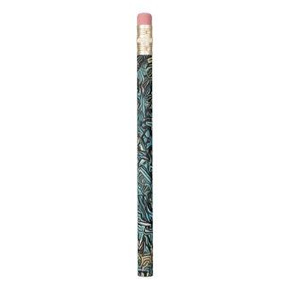 Crayon Les lignes super dans la sarcelle d'hiver, les