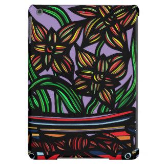 Créatif floral simple incroyable coque iPad air