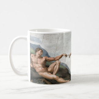 Creation of man kaffeetasse