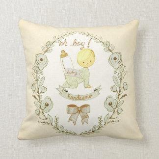Crèche belle de bébé vintage décorative oreillers