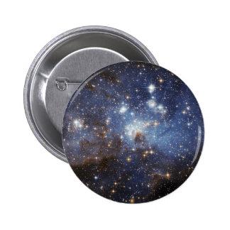 Crèche stellaire badge rond 5 cm