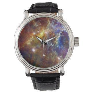 Crèche stellaire en constellation de licorne montres