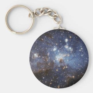 Crèche stellaire porte-clé rond
