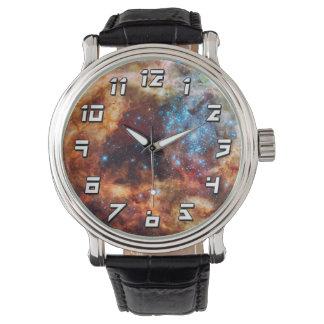 Crèche stellaire R136 Montres Bracelet