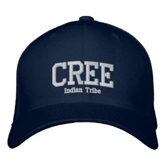 Cree-Inder-Stamm Besticktes Baseballcap
