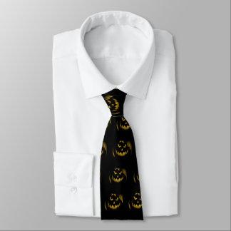 Creepy Jack o Laternen-Halloween-Krawatte Individuelle Krawatten