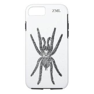 Creepy Tarantula-Spinne personalisiert iPhone 8/7 Hülle