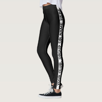 Créez vos propres guêtres personnalisées leggings
