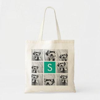 Créez votre propre monogramme de coutume de tote bag