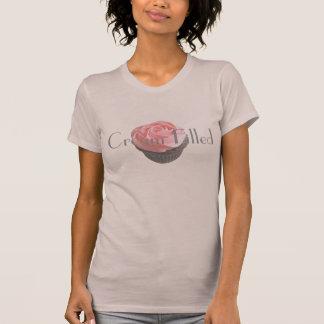 Creme gefüllter Anspielung lustiger T - Hemden