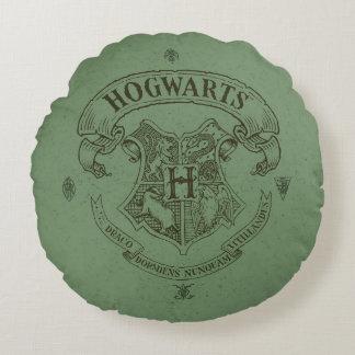 Crête de bannière de Harry Potter   Hogwarts Coussins Ronds