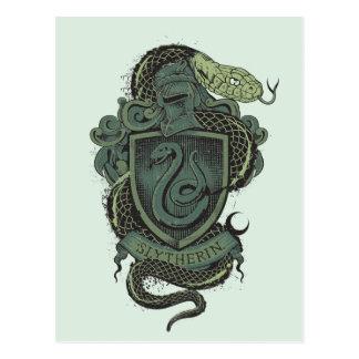 Crête de Harry Potter   Slytherin Carte Postale
