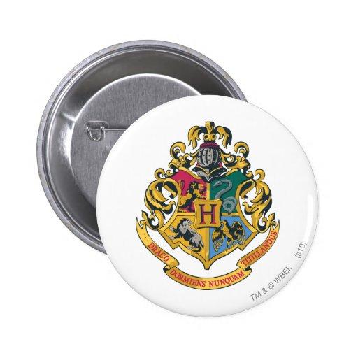 Crête de Hogwarts polychrome Badge