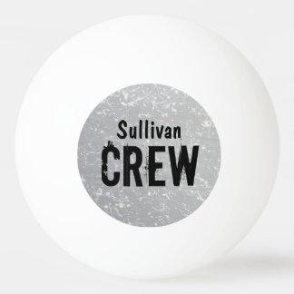 CREW | Gruppen-oder des Familienname-| Tischtennis Ball