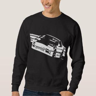 Crew-Hals-Strickjacke Mazdas RX-7 FC3S seitlich Sweatshirt