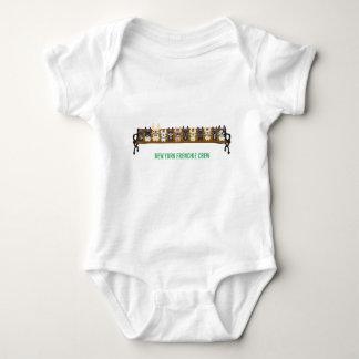 Crew New York Frenchie durch französische Baby Strampler