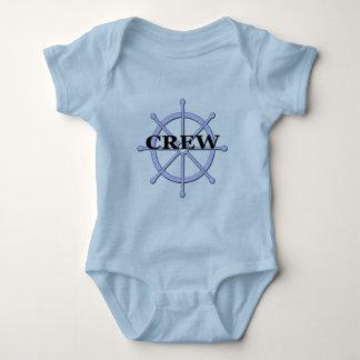 Crew-Schiffs-Rad-Säuglings-T - Shirts