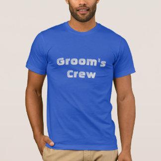 Crew-Shirt des Bräutigams T-Shirt