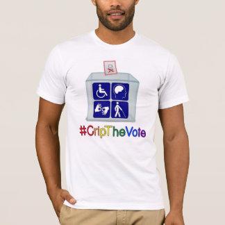 #CripTheVote T - Shirt, Weiß, für Männer T-Shirt