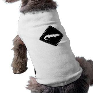 Croco Krokodil-Zeichen-Hundeshirt Shirt