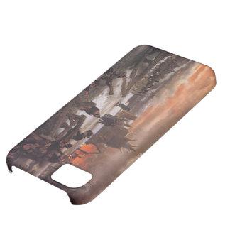 Croisement de Lawrence Tadema-The de la rivière Coques Pour iPhone 5C