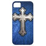 Croix bleue coque iPhone 5 Case-Mate