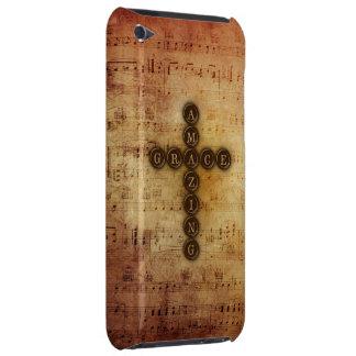 Croix extraordinaire de grâce sur la musique de coque iPod touch Case-Mate