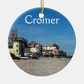 Cromer Stadt und Pier, Verzierung Keramik Ornament
