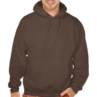 Croquis ESPIÈGLE de CHEVAL de Brown Sweatshirts Avec Capuche
