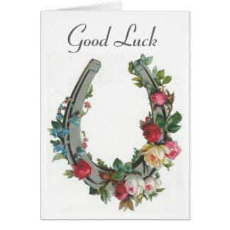 Cru - bonne chance carte de vœux