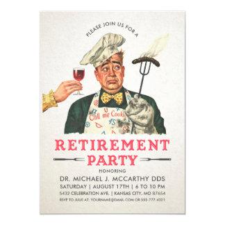 Cru drôle des invitations | de partie de retraite