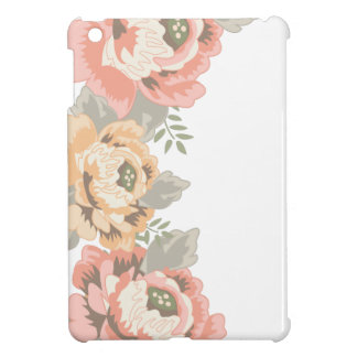 Cru floral étuis iPad mini