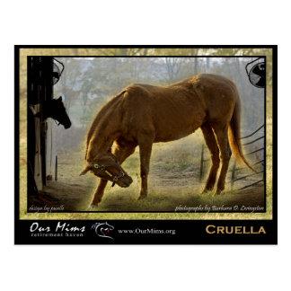 Cruella Postkarte