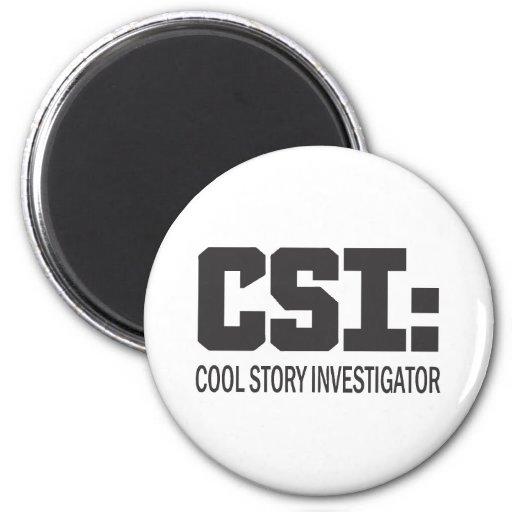 CSI : Investigateur frais d'histoire Aimant Pour Réfrigérateur