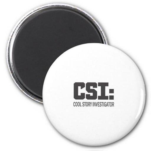 CSI : Investigateur frais d'histoire Magnets Pour Réfrigérateur