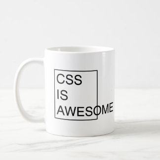 CSS IST FANTASTISCHE Tasse