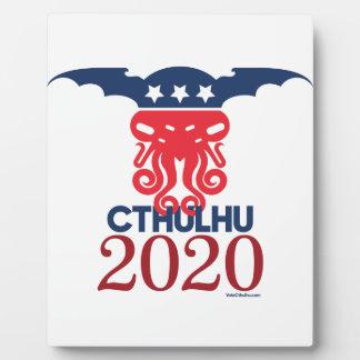 Cthulhu für Präsidenten 2020 Fotoplatte