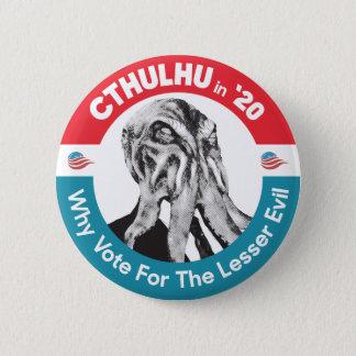 Cthulhu für Präsidenten in '20 Runder Button 5,7 Cm