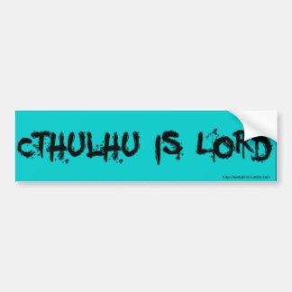 Cthulhu ist Lord Autoaufkleber