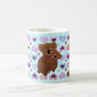 Cuddly Koala-Liebe Kaffeetasse