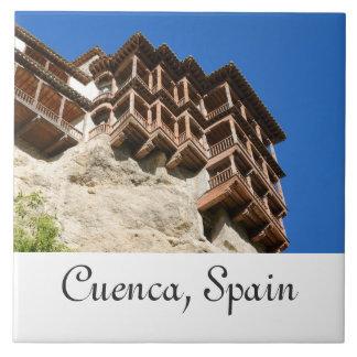 Cuenca, Spanien Keramikfliese