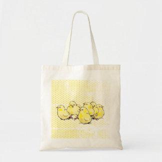 cultivez les poussins de bébé, sac fourre-tout