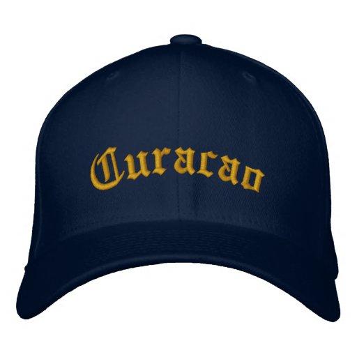 Curaçao Besticktes Cap